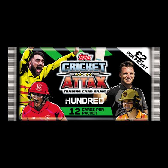 The Hundred - Cricket Attax 2021 - Full Box