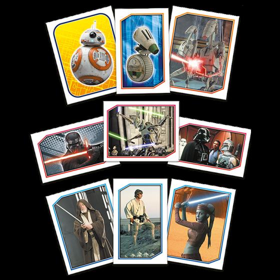 Star Wars Fact File Box - Full Set of 6 boxes