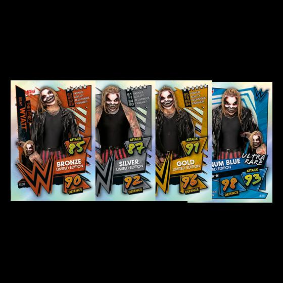 WWE Slam Attax 2021 - Multipack - The Fiend (Green)