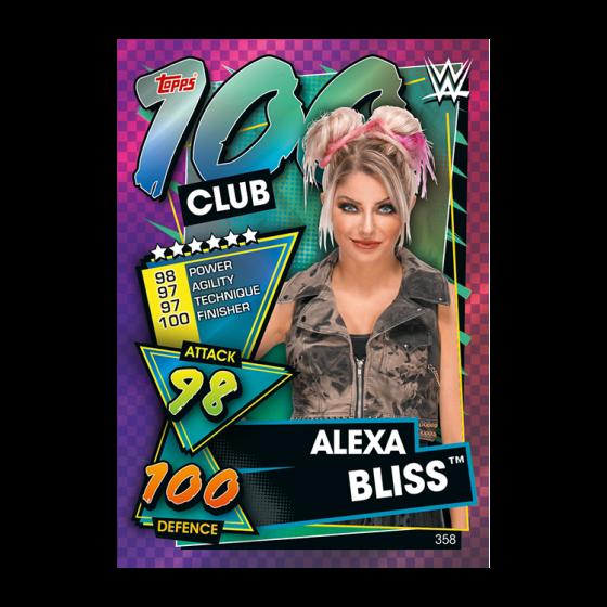 WWE Slam Attax 2021 - Multipack - Alexa Bliss (Orange)
