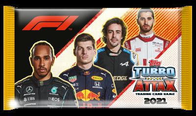 トップス ターボアタック シーズン2021-2022 ボックス24パック入り スポーツカード フォーミュラワンカード Topps F1 Turbo Attax season 2021-2022 Full Box