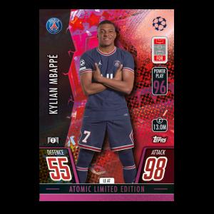 Match Attax season 2021-2022 Collector Tin Mega - Atomic マッチアタック シーズン2021-2022 コレクターティンケース メガ (アトミックカラー)