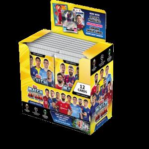 Match Attax season 2021-2022 Full Box マッチアタック シーズン2021-2022 ボックス24パック入り