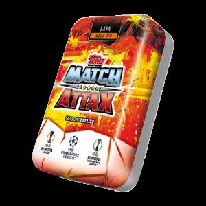 Match Attax season 2021-2022 Collector Tin Mega - Lava マッチアタック シーズン2021-2022 コレクターティンケース メガ (マグマカラー)