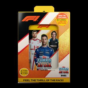 ターボアッタク シーズン2021-2022 コレクターティンケース 3 - リカルド アロンソ ジョヴィナッツィ F1カード F1 Turbo Attax season 2021-2022 Mini Tin Box 3 - Ricciardo Alonso Giovinazzi